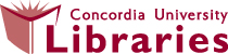 Concordia Libraries Home