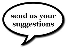 send us your suggestions