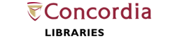 Concordia Libraries logo